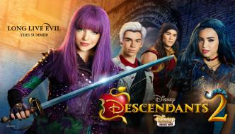 кино фильмы, descendants 2, descendants, 2