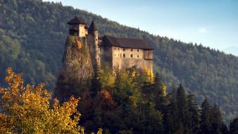 orava castle словакия, города, - дворцы,  замки,  крепости, orava, castle, словакия