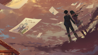 аниме, noragami, пара