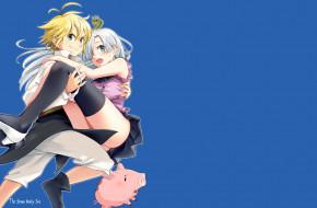 аниме, nanatsu no taizai, двое