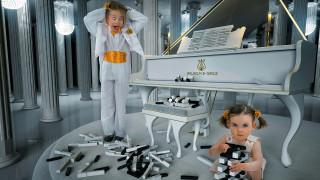 клавиши, девочки, рояль