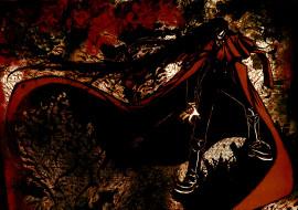 аниме, hellsing, алукард, vampire, dracula, alucard, вампир, дракула