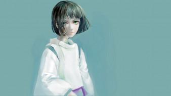 аниме, spirited away, хаку