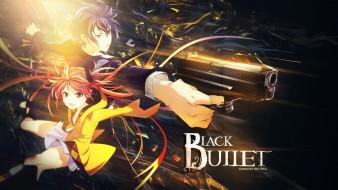 аниме, black bullet, чёрная, пуля