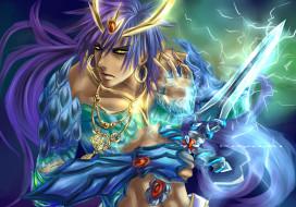 аниме, magi the labyrinth of magic, взгляд