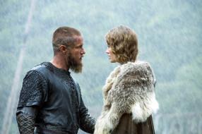 кино фильмы, vikings , 2013,  сериал, alyssa, sutherland, aslaug
