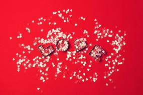 праздничные, день святого валентина,  сердечки,  любовь, красный, день, святого, валентина, любовь, сердечки, фон, love