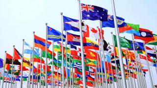 разное, флаги,  гербы, флагштоки
