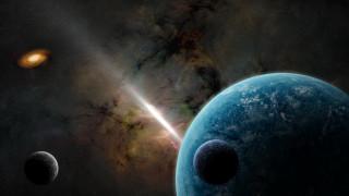 обои для рабочего стола 1920x1080 космос, арт, планеты, вселенная, звезды, галактика