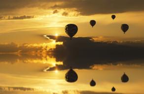 шары, полет