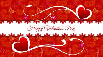 праздничные, день святого валентина,  сердечки,  любовь, цвета, фон, узор