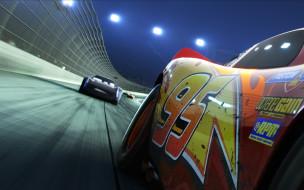 Lightning McQueen, car, animated film, Disney, movie, film, speed, animated movie, Cars 3, cinema, Cars, race