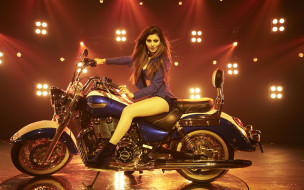 girls and moto 40, мотоциклы, мото с девушкой, синий, moto, girls, красный