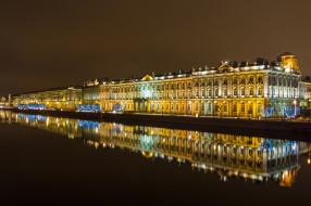 saint peterburg, города, санкт-петербург,  петергоф , россия, ночь, огни