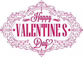 праздничные, день святого валентина,  сердечки,  любовь, цвета, фон, узор, надпись