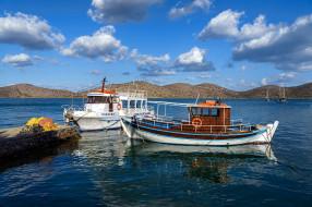 море, рыбацкие, лодки