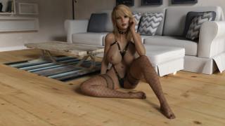 эротика, 3д-эротика, девушка, взгляд, фон, грудь