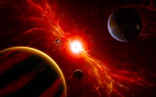 звезды, планеты, звезды, вселенная, галактика