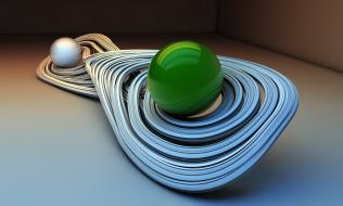 3д графика, шары , balls, фон, узор, цвета