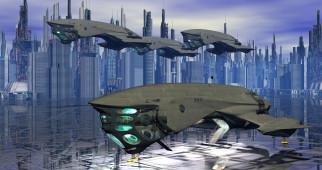 3д графика, космические корабли,  звездолеты , spaceships,  starships, космические, корабль, полет, вселенная, галактика