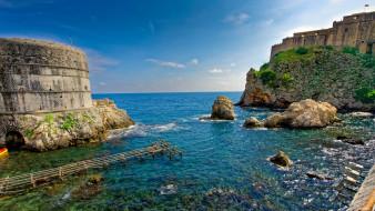 croatia,  dubrovnik, города, - пейзажи, побережье