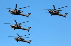 МИ- 28Н, вертолёты