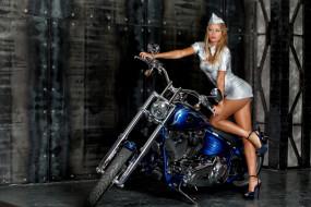 girls and moto 54, мотоциклы, мото с девушкой, синий, moto, girls
