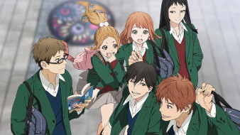 аниме, orange, персонажи