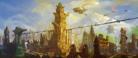 сооружения, город, мир, иной