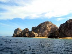 скалы, море, пляж