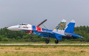 su-27 russian knights, авиация, боевые самолёты, истребитель