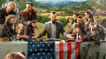 far cry 5, видео игры, action, far, cry, 5, шутер