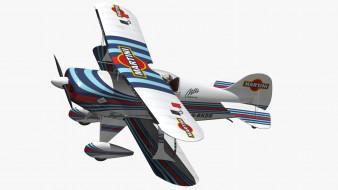 3D модель, биплан, Pitts S1 Martini