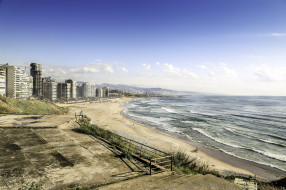 beyrouth plage, города, - панорамы, побережье