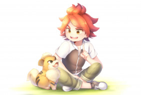 аниме, inazuma eleven, мальчик