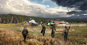 action, Far Cry 5, шутер