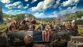 шутер, action, Far Cry 5