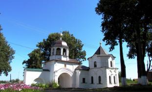 переславль - залесский, города, - православные церкви,  монастыри, дерево, храм, собор