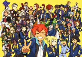 аниме, inazuma eleven, персонажи