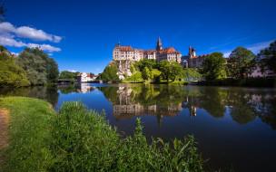 castle sigmaringen, города, замки германии, castle, sigmaringen