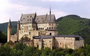 vianden castle люксембург, города, - дворцы,  замки,  крепости, vianden, castle, люксембург