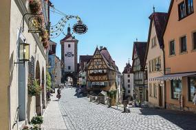 rothenburg германия, города, - улицы,  площади,  набережные, rothenburg, германия