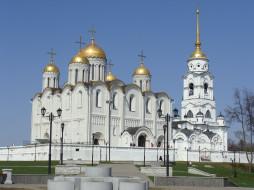 успенский собор, города, - православные церкви,  монастыри, владимир, успенский, собор