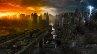 фэнтези, иные миры,  иные времена, город, война