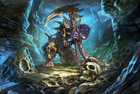 фэнтези, существа, существо, пещера, оружие, монстр