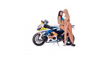 moto girl 754, мотоциклы, мото с девушкой, girls, moto