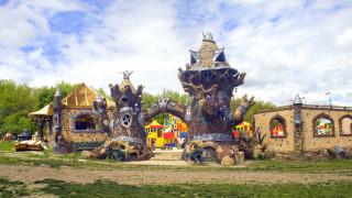 сказочная постройка, детская площадка