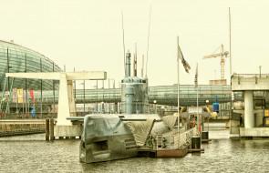 корабли, моторные лодки, субмарина