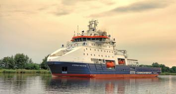 корабли, грузовые суда, судно