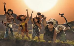 мультфильмы, the croods, family, animated, film, the, croods, 2, movie
